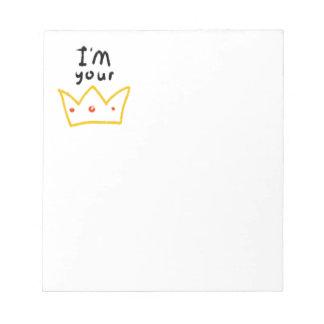 Crown Notepad