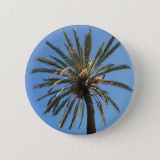 crown of a palm tree 2 inch round button