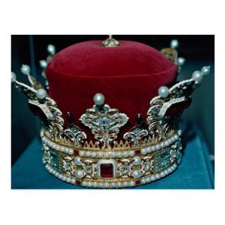 Crown of Royalty, Liechtenstein Postcard