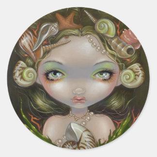 """Crown of Shells"" Sticker"