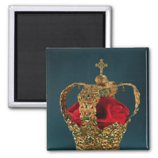 Crown of the Andes Square Magnet