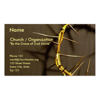 Crown of Thorns Card II Business Card
