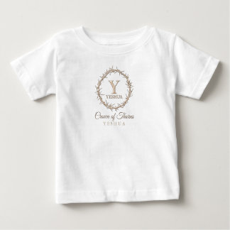 CROWN OF THORNS Christian Baby T-Shirt