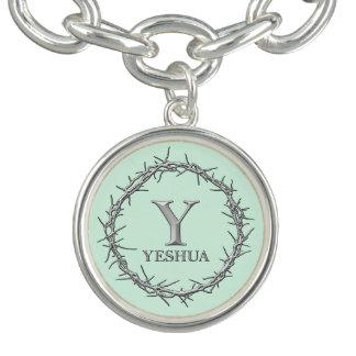 CROWN OF THORNS Christian Charm Bracelet