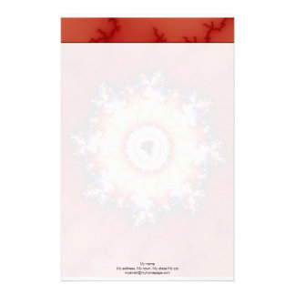 Crown Of Thorns - Fractal Stationery Paper