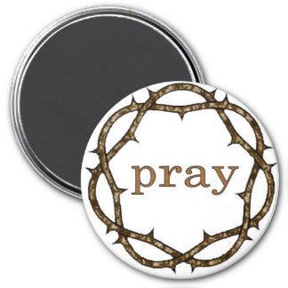 Crown of Thorns Lenten PRAY Magnet