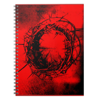 Crown of thorns notebook