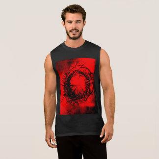 Crown of thorns sleeveless men's shirt