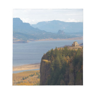Crown Point on Columbia River Gorge OR Notepad