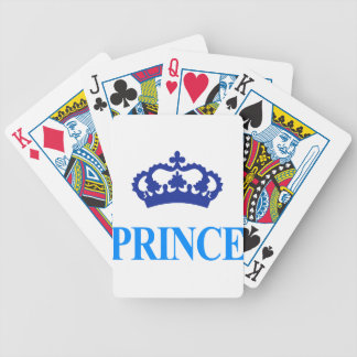 crown prince cool cute design bicycle playing cards
