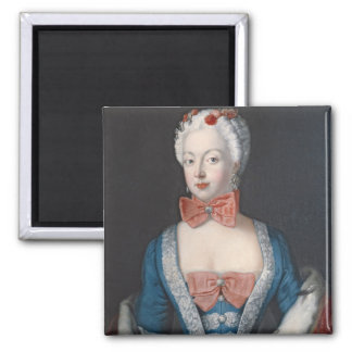 Crown Princess Elisabeth Christine von Preussen Square Magnet