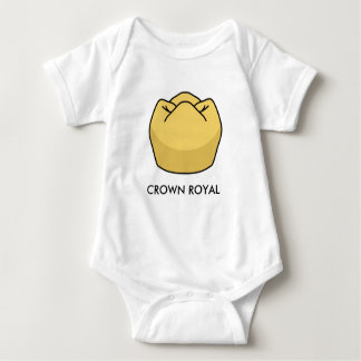 """Crown Royal"" Baby Onsie Baby Bodysuit"