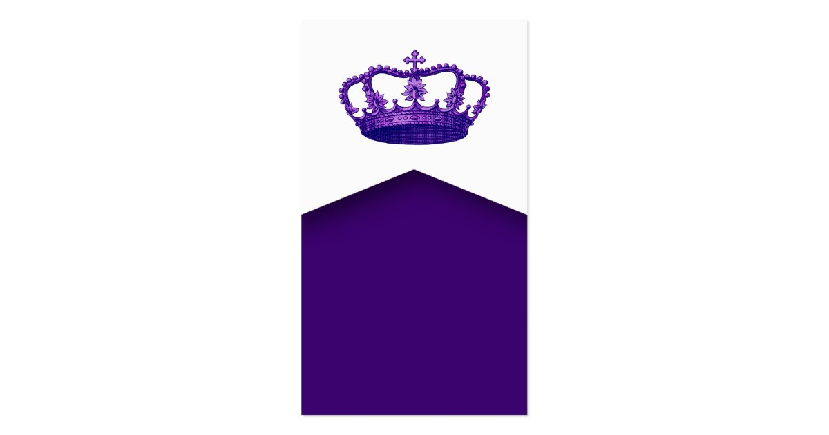 Crown Royalty Princess or Queen Template V2 PURPLE ...