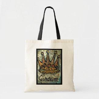 Crown Royalty Tote Bag