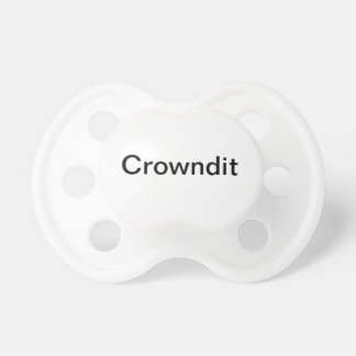 Crowndit Clothing.com Pacifier