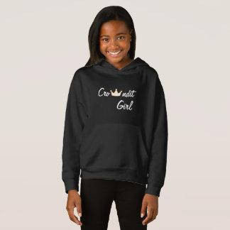 Crowndit girl hoodie