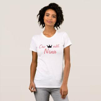 crowndit queen nina t shirt