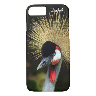 Crowned Crane Bird iPhone 7 Case