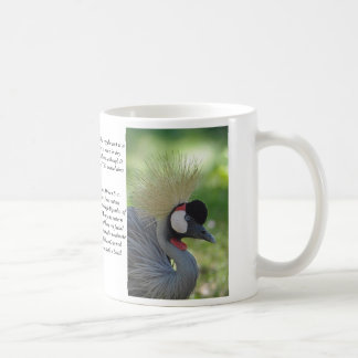 Crowned Crane... Coffee Mug