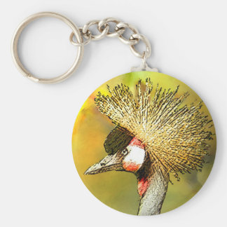 Crowned-Crane from JungleWalk Keychain