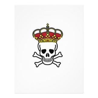 crowned death letterhead