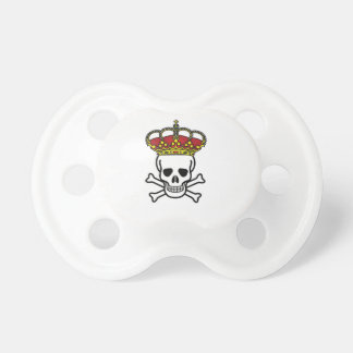 crowned death pacifiers