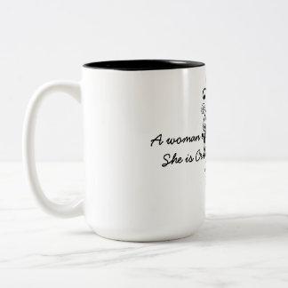 Crowned With Purpose Two-Tone Coffee Mug