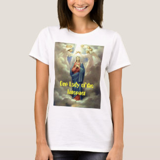 crowning-queen-of-heaven, Our Lady of the Internet T-Shirt