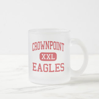 Crownpoint - Eagles - High - Crownpoint New Mexico Frosted Glass Coffee Mug