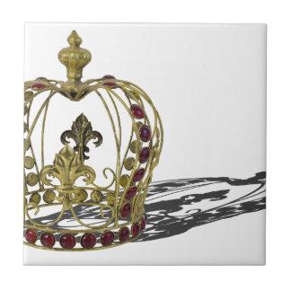 CrownRedGems110814.png Ceramic Tile
