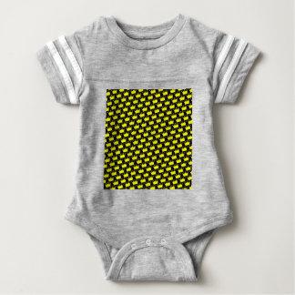 Crowns Pattern Baby Bodysuit