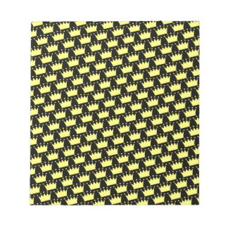Crowns Pattern Notepad