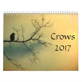 Crows 2017 wall calendar