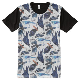 Crows and Corvids All-Over-Print T-Shirt
