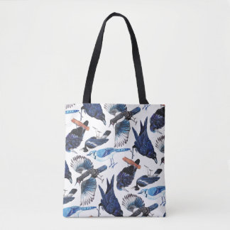 Crows and Corvids Tote Bag
