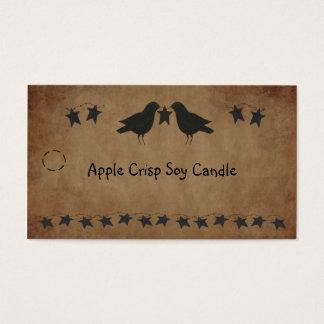 Crows and Stars Hang Tag