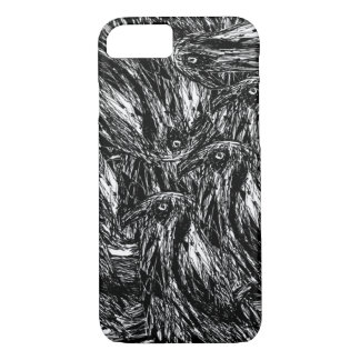 Crows iPhone 7 Case