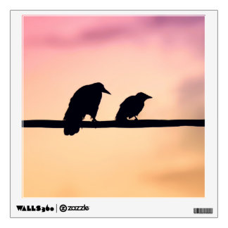 Crows Wall Decal