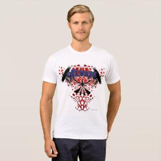 CrowZ Men's Poly-Cotton T-Shirt