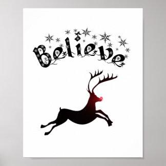 Croyez à la copie de renne