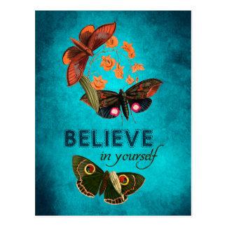 Croyez en vous-même cartes postales