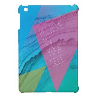 Croyez en vous-même soit vous cas de l'iphone 5 coque pour iPad mini
