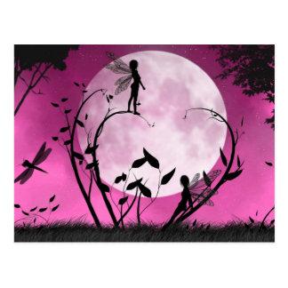 Croyez la carte postale de fée de clair de lune