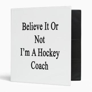 Croyez que c'ou pas moi suis un car d'hockey
