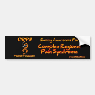 CRPS A Patients Perspective Bumper Sticker