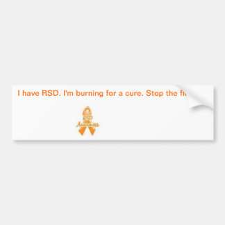 CRPS Awareness Bumper Sticker