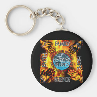 CRPS Keeping our World Turning  Keychain