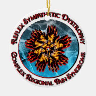 CRPS / RSD Red Circlet Ornament