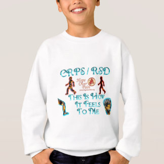 CRPS RSD  This Is How it Feels to Me HOP Sweatshirt