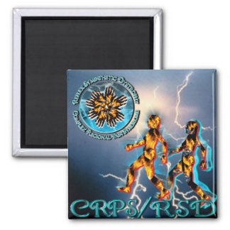 CRPS/RSD Weathering the Storm Turquoise Magnet